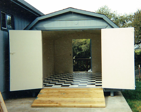 Custom sheds interior